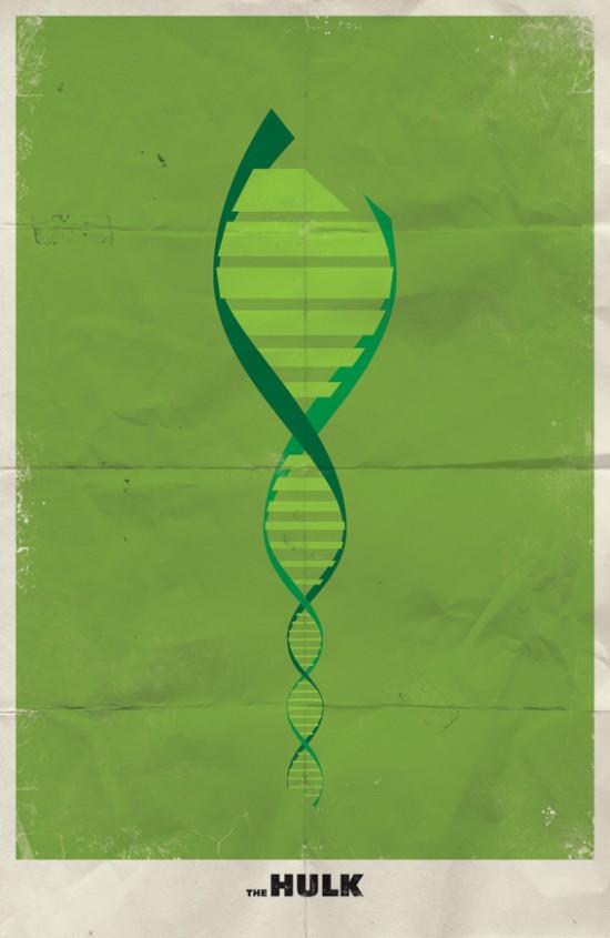 Minimal Marvel Poster Hulk