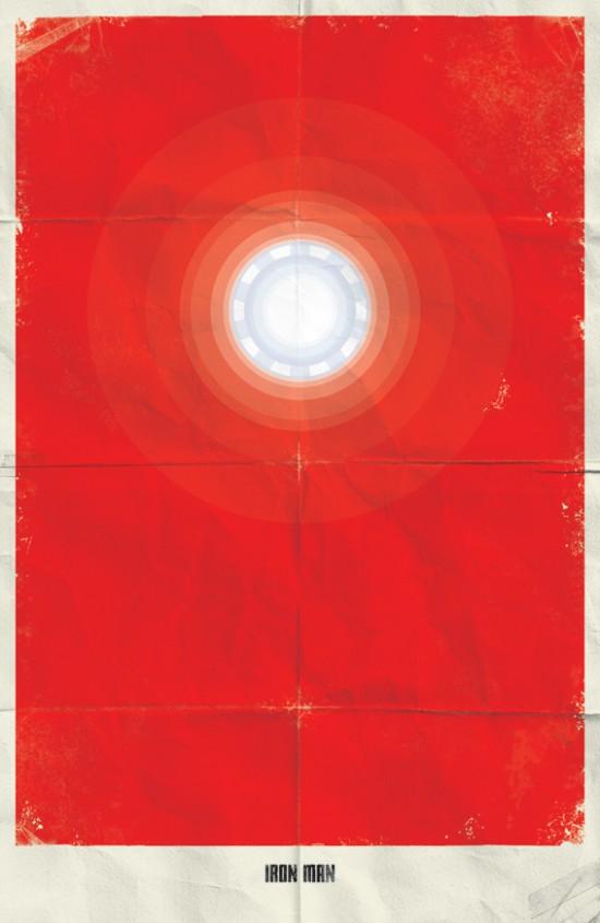 Minimal Marvel Poster Ironman