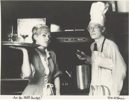 Andy Warhol & Debby Harry