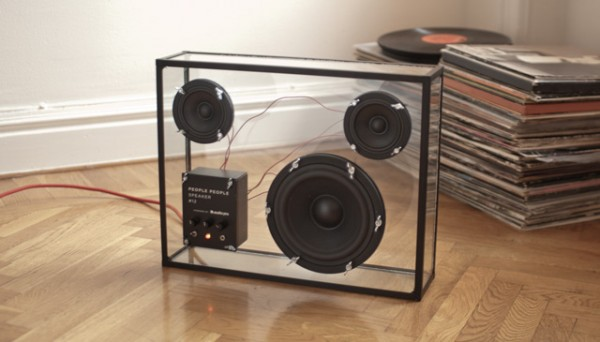Transparent Speaker by PeoplePeople